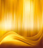 Elegant gold abstract background illustration Stock Image