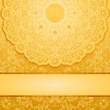 Elegant gold backgroundΠRoyalty Free Stock Image