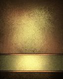 Elegant gold brown background royalty free illustration