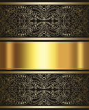 Elegant gold and brown background Royalty Free Stock Photos