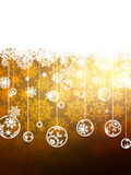Elegant Gold Christmas Background. EPS 8 Royalty Free Stock Photos