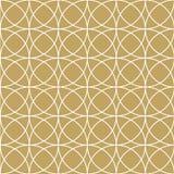 Elegant Gold Circle Pattern Stock Image