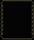 Elegant gold frame 2 Royalty Free Stock Image