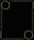 Elegant gold frame 3 Royalty Free Stock Photography