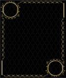 Elegant gold frame 3 Royalty Free Stock Photography