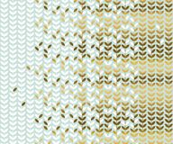 Elegant gold and pale green leaf pattern. Simple luxury style stock vector illustration. for background, wrapping paper, fabric Royalty Free Stock Photo