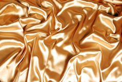 Elegant gold satin Royalty Free Stock Photo