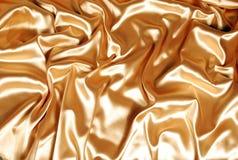 Elegant gold satin Royalty Free Stock Photo