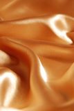 Elegant gold satin background Royalty Free Stock Photography