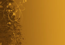 Elegant golden abstract background design Stock Photo
