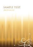 Elegant golden background. Elegant background with golden stripes Stock Photo