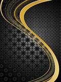 Elegant golden background Royalty Free Stock Photos