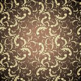 Elegant golden seamless pattern Stock Photos