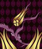 Elegant golden traditional ottoman design Stock Photos
