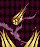 Elegant golden traditional ottoman turkish design Stock Photography