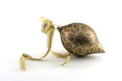 Elegant gouden ornament Royalty-vrije Stock Afbeelding