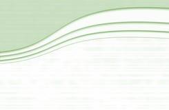 Elegant green. Elegant background horizontal green and white Stock Photo