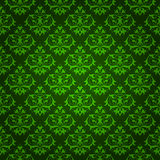 Elegant green floral background Stock Photos