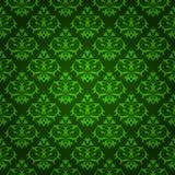 Elegant green floral background Stock Photos