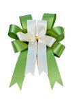 Elegant green ribbon Stock Photography