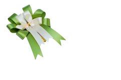 Elegant green ribbon Royalty Free Stock Images
