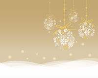 Elegant greeting card. Christmas , ceremony, new year card, vector and illustration can be use for wallpaper, background, backdrop Royalty Free Stock Image