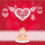 Elegant greeting card Royalty Free Stock Images