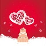 Elegant greeting card Royalty Free Stock Photo