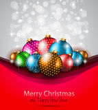 Elegant greetings background Stock Image