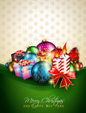 Elegant greetings background for flyers Royalty Free Stock Images