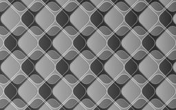 Elegant grey abstract background of rhombuses and squares with 3D effect Stock Photo