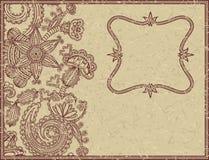 Elegant grunge card Royalty Free Stock Image