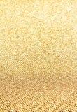 Elegant guld- bakgrund med att blänka magisk effekt. Guld- te Arkivfoton