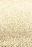 Elegant guld- bakgrund med att blänka magisk effekt. Guld- te Arkivfoto