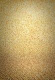 Elegant guld- bakgrund med att blänka magisk effekt. Guld- te Royaltyfri Fotografi