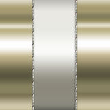 Elegant guld- och bruntbakgrund Arkivbilder