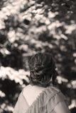 Elegant hairstyle Royalty Free Stock Photography