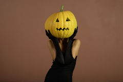 Elegant halloween phantom. Stock Images