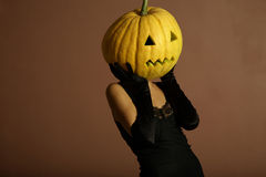 Elegant halloween phantom. Royalty Free Stock Photos