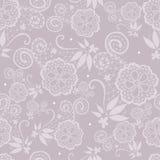 Elegant hand-drawn lace pattern Royalty Free Stock Image