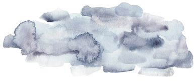 Winter watercolor texture. royalty free illustration