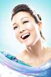 Elegant and happy Royalty Free Stock Image