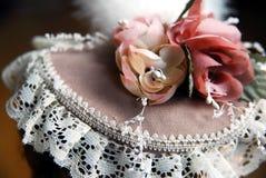 elegant hatt Arkivbild