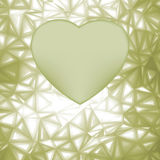 Elegant heart frame with space for concept. EPS 8 Royalty Free Stock Images