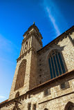 Elegant high church tower in Salzburg Stock Images