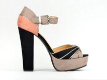 Elegant High Heel Platform Stock Image