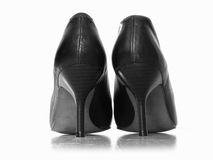Elegant high heels shoes Royalty Free Stock Photography