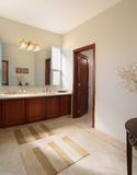 Elegant home: Bathroom Royalty Free Stock Photography