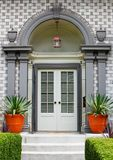Elegant Home Front Door Stock Photos
