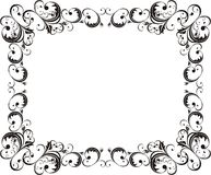 Elegant horizontal frame Royalty Free Stock Images